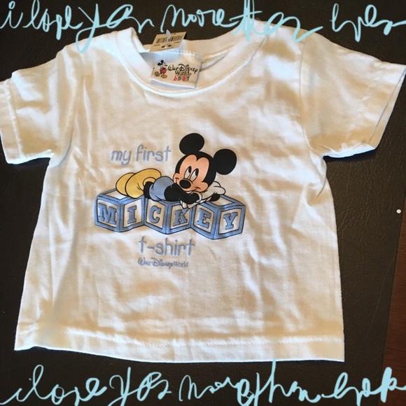 Walt Disney World Shirts Tops Baby Shirt Poshmark